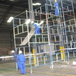 asbestos roof removal process