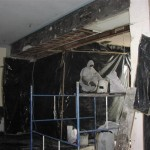 removal process inside buildings