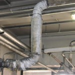 typical application of asbestos insulation